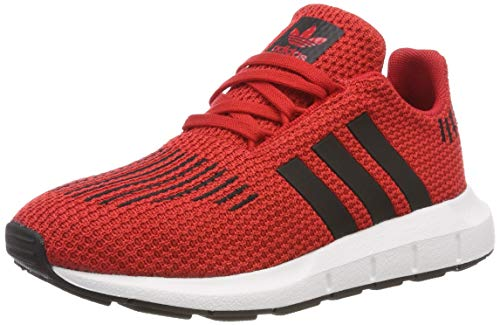 adidas Unisex-Kinder Swift Run C Gymnastikschuhe, Rot (Scarlet/Core Black/FTWR White), 33 EU -