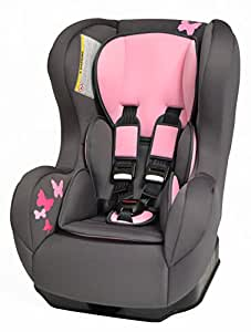 Comfort Plus Car Seat In Pink Butterfly Review