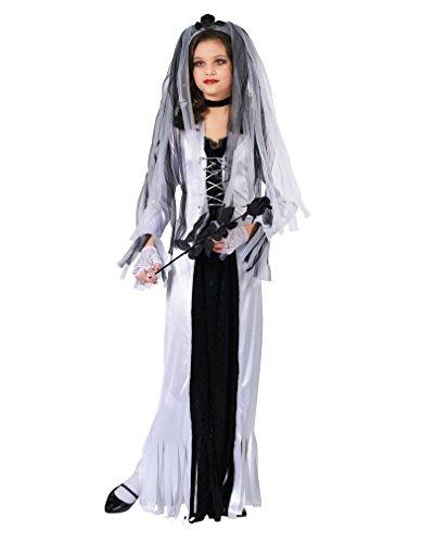 Preisvergleich Produktbild Zombie Braut Kinderkostüm Medium