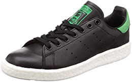 Adidas Originals Bb0009 Stan Smith Boost Black Black Green