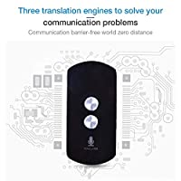 Blessvt Intelligent Voice Translator With 42 Multi-language Portable Two-way Real-time Wireless Bluetooth Instant Voice Translator