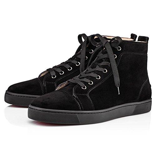 saman-chaussures-femme-bip-bip-veau-velours-lacage-hightop-travail-bureau-en-daim-noir-baskets-dentr
