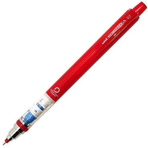 Preisvergleich Produktbild Uni Druckbleistift Kurutoga Standard Red Body with Red Color Lead