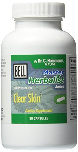 belllifestyleproducts #60 Bell Clear Skin Capsules by