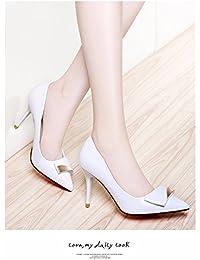 GTVERNH-Women'S Shoes/Scarpe/Donna/Tacco Classico Scoppiando Sharp Superficiale Uno Spessore Di Dodici Centimetri Di Tacchi…