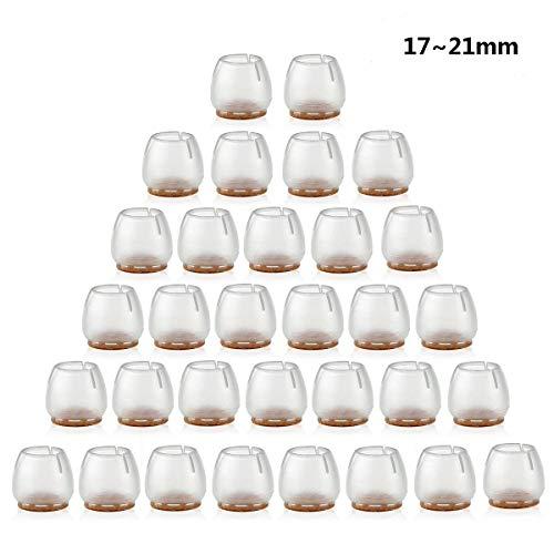 B8 Ensemble de 24 Petites Chaussures de Style Style Chaise de Pied Pratique Chaussettes de Jambe de Chaise