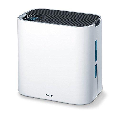 Beurer LR 330 - Purificador de aire, 60 W, 2 en 1 (limpieza y humidificación), espacios hasta 35 m²