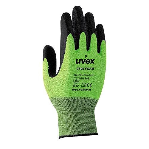 uvex helix C5 Foam Schnittschutzhandschuhe, Größe:09