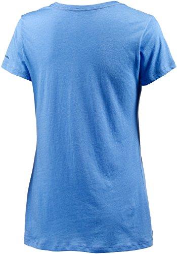 Columbia Femme Birdy Buddy à manches courtes Graphic T-shirt bleu
