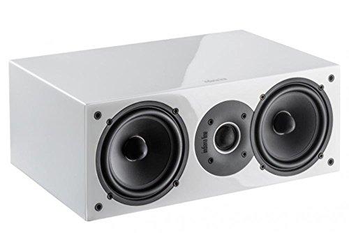 Indiana Line Diffusor akustisches Zentrale Tesi 742A 2Wege Leistung 100Watt Farbe lackiert weiß -