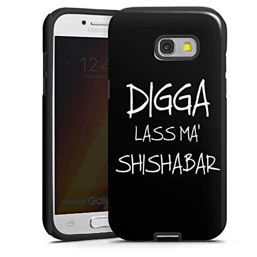 DeinDesign Outdoor Hülle kompatibel mit Samsung Galaxy A5 Duos 2017 Panzer Case Schutzhülle Stoßfest Shisha Yallah