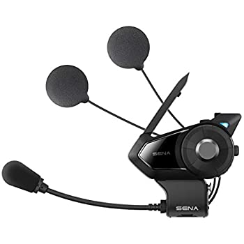 Sena 30K-10 Bluetooth Communication System with Mesh Intercom for Motorcycle Riders, WiFi Pack