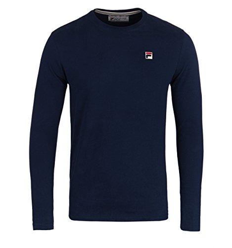 fila-vintage-mens-longsleeved-felice-logo-t-shirt-blue-large