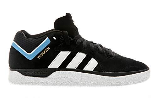 d77fc5eba15e0 adidas Skateboarding Tyshawn, Core Black-Cloud White-Light Blue, 8