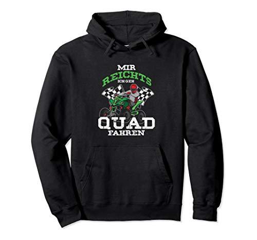 Ich Geh Quad Fahren Quads Quadfahrer Motorsport ATV Geschenk Pullover Hoodie