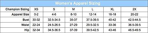Champion - T-shirt de sport - Manches Courtes - Femme Blanc
