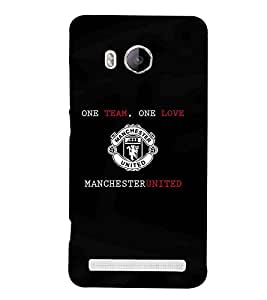 For Vivo Xshot :: Vivo X Shot one team, on love, white icon, icon, black background, good quotes Designer Printed High Quality Smooth Matte Protective Mobile Case Back Pouch Cover by APEX