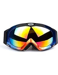 Daesar Gafas Moto Hombre Gafas de Seguridad Gafas de Nieve Gafas Hombre Mujer Gafas Protectoras Antipolvo