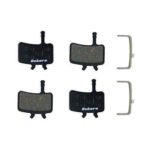 Gekors 2 paires de plaquettes de frein à disque semi-métalliques pour tous les Avid BB7/Juicy.