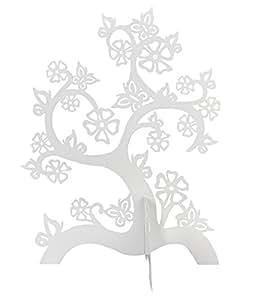 """SIX Schmuckbaum """"Magic Garden"""" mit stilisierten Blüten in Weiß (244-044)"""