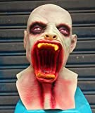 Halloween Muerte Demonio Máscara Head Set Horror Vampire Máscara Bar Prom...