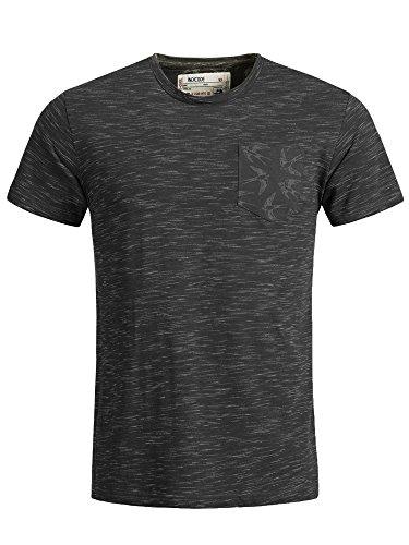 Indicode Herren Blaine T-Shirt Hellblau