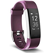 Fitness Tracker, TOOBUR Smart Watch Activity Tracker with Heart Rate...