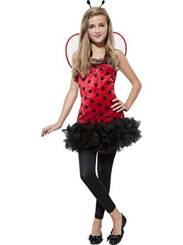 Kostüm Miss Marienkäfer–Größe (Kostüm Insekten Antennen)