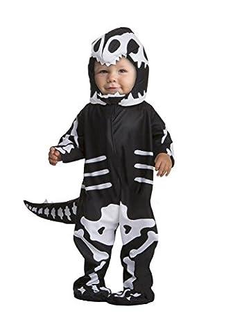 Dinosaur Skeleton Costume - T-Rex Skeleton Infant Costume,