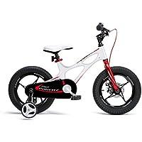 Royal Baby Space Shuttle Bicicleta, Unisex niños, Blanco, 16 Pulgadas