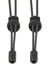 Elastische Schnürsenkel mit Schnellverschluss-Kinder Schnürsenkel Sportschuhe Schnellschnürsystem für Arbeitsschuhe,Stiefel,Turnschuhe und Wander