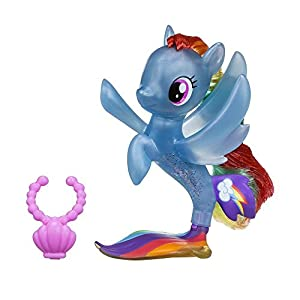 My Little Pony- SIRENA CON MOVIMIENTO, Color azul (Hasbro 285942)