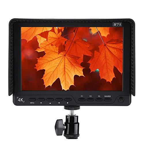 VBESTLIFE7 Zoll 1920x1200 HD IPS Camera Field Monitor Kamera Feld Monitor Feld Monitor 4K HDMI für die meisten professionellen Kameras, Camcorder und digitalen Spiegelreflexkameras.