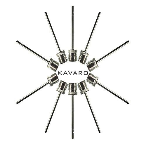 KAVARO 10 Stück Ballnadeln Ersatznadeln für alle gängigen Luft- und Ballpumpen