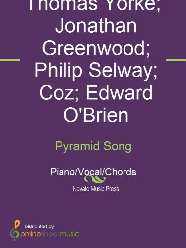 Pyramid Song Ebook Coz Edward Obrien Jonathan Greenwood Philip