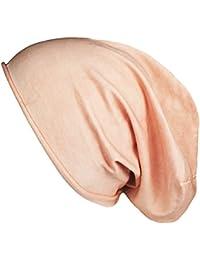 Mevina Beanie Uni Baumwolle Premium Qualität Beanie Mütze Unisex Long Slouch in vielen Farben