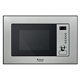 Hotpoint MWHA 122.1 X Built-in 20L 1200W Stainless steel microwave - microwaves (Grill, Microwave)