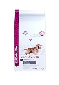 Eukanuba Daily Care PEau Sensible - Croquettes pour Chien Adulte sujet à des problème de pEau - 12kg
