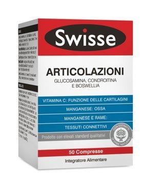 Swisse Articolazioni Integratore Alimentare 50 Compresse