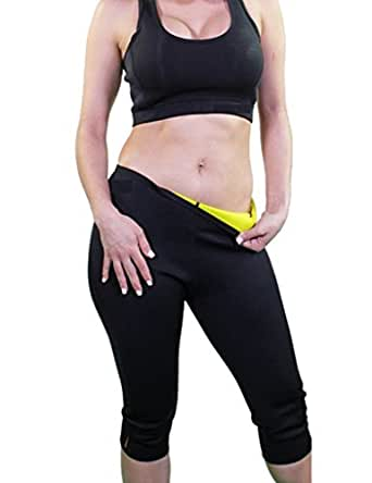 Hot Thermo Slimming Pants Neoprene Sweat Sauna Body Shapers for Womens