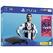 Sony PS4 1TB Slim Console (Free Game: FIFA19)