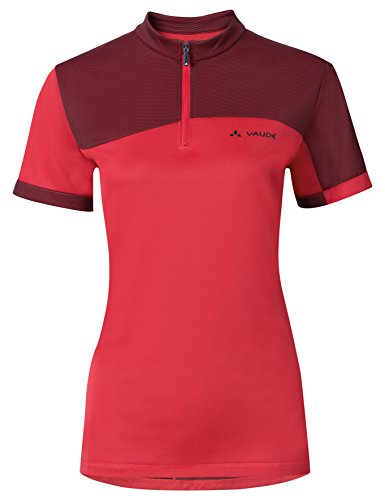 VAUDE Damen T-Shirt Tremal Zip Off II, Flame, 38, 06601 -