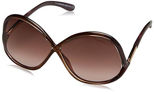 Tom Ford Sonnenbrille Ivanna (64 mm) braun