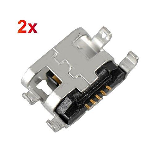 2x Lenovo IdeaTab S6000Yoga 8(B6000) Tablet de Micro USB hembra conector de carga Conector