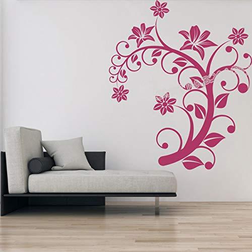 Nautische Ernte (Umweltfreundliche Schiff Lenkrad Wandaufkleber Nautische Wohnzimmer Wanddekor Wand Kunst Dekoration Wandpapier Aufkleber 57X57CM)