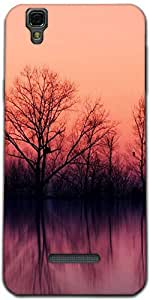 Snoogg Nature Wallpaper Designer Protective Back Case Cover For Micromax Yure...