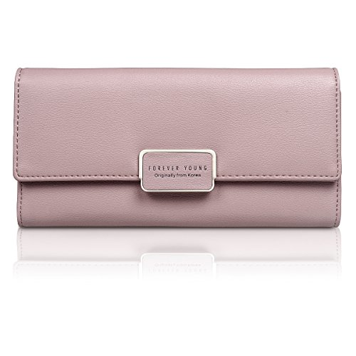 Fency ,  Damen-Geldbörse rosa rose (Handle Long Tote Double)