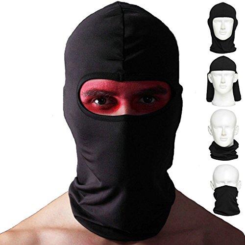 Amasawa Sturmhaube Fahrrad-Premium-Gesichtsmaske für den Außenreit Tactics Angeln Staub Zum Beweis Kalte Motorrad Kopfbedeckungen (Die Maske Hälfte Stil)