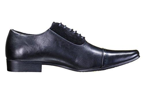 Galax - Chaussure Derbie Gh2081 Black Noir