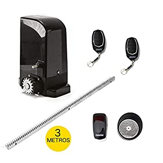 Complete Kit Motorline Bravo 500Professional Sliding Motor for Automate Sliding Doors and Gates up to 500kg in weight Professional Quality, with Accessories and Manual in English.